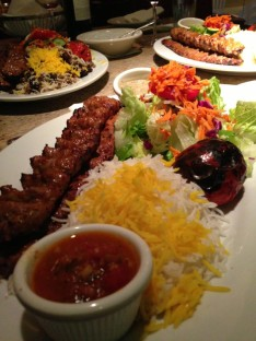 spicy persian kabob